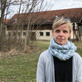 Gesichter für den Akademiepark – Elke Szalai