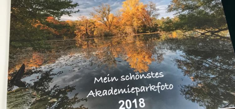 """Kalender """"Mein schönstes Akademieparkfoto"""" jetzt erhältlich"""