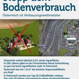 Veranstaltung: Beton kann man nicht essen! Stopp dem Bodenverbrauch!