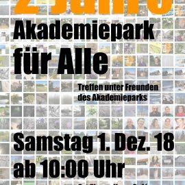 2 Jahre – Akademiepark für Alle