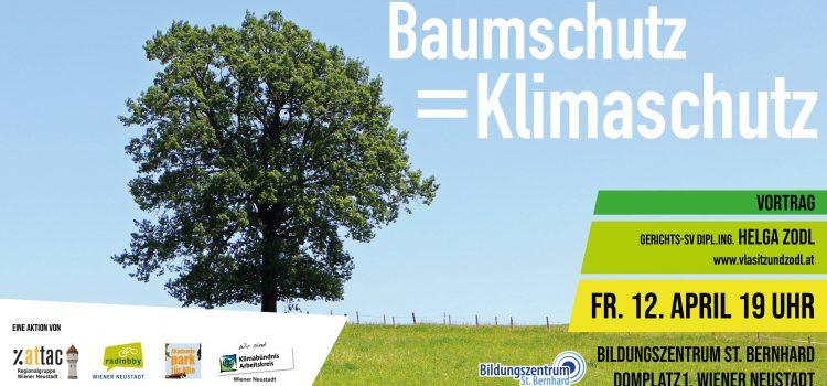 Vortrag Baumschutz = Klimaschutz