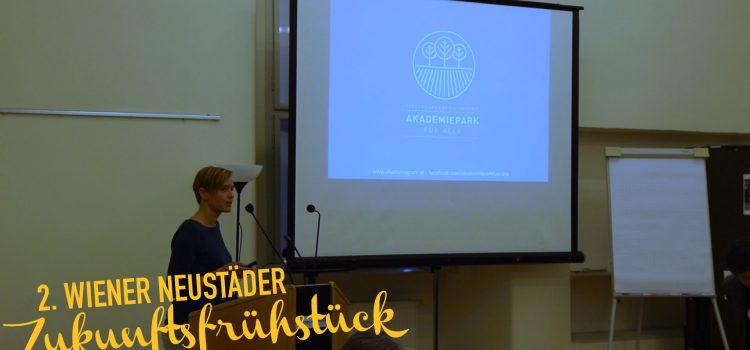 Vorträge 2. Wiener Neustädter Zukunftsfrühstück – Reise ins Jahr 2030